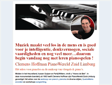 Tablet Preview of clemenshoffmanpianowereld.nl